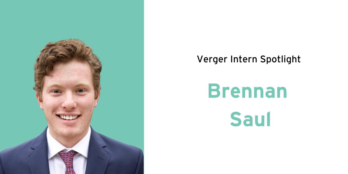 Intern Spotlight: Brennan Saul
