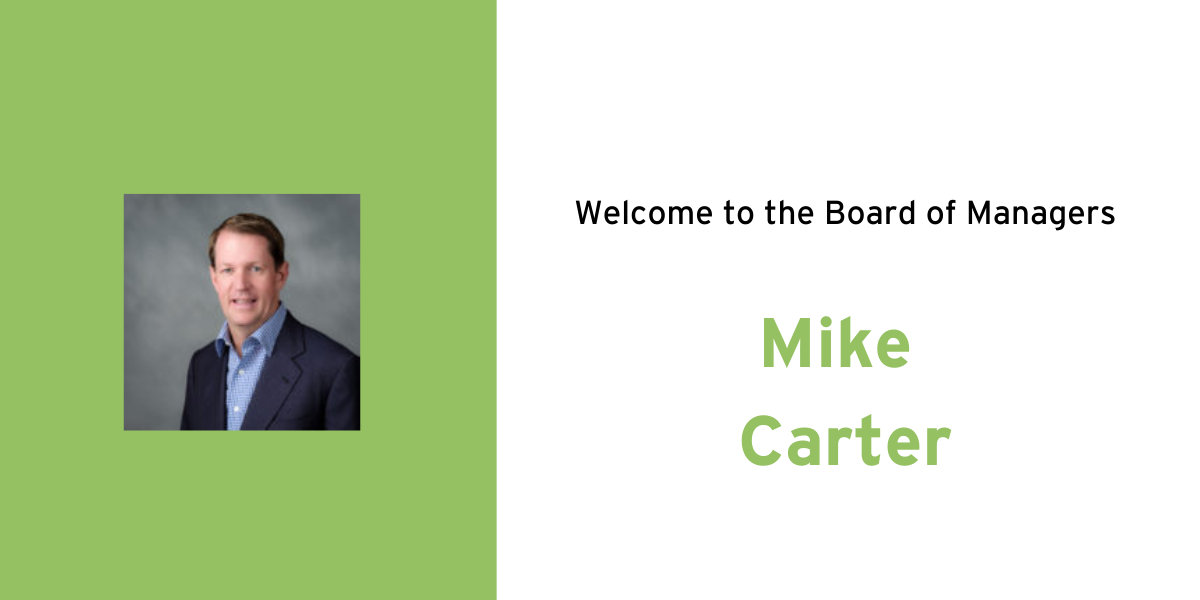 Mike Carter Joins Verger's Board of Managers